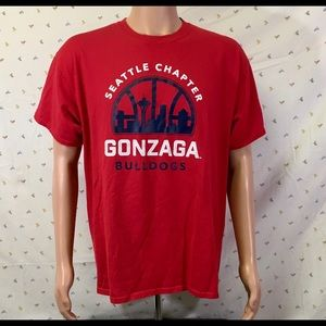 Gonzaga Port And Co  - Seattle Chapter Zags Alum T